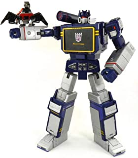 KO Version Transformer Masterpiece MP-13 Soundwave Figure