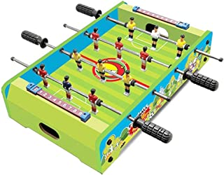 TOOYU Table Top Foosball Table For Adults And Kids - Compact Mini Tabletop Soccer Game - Portable Recreational Hand Soccer...