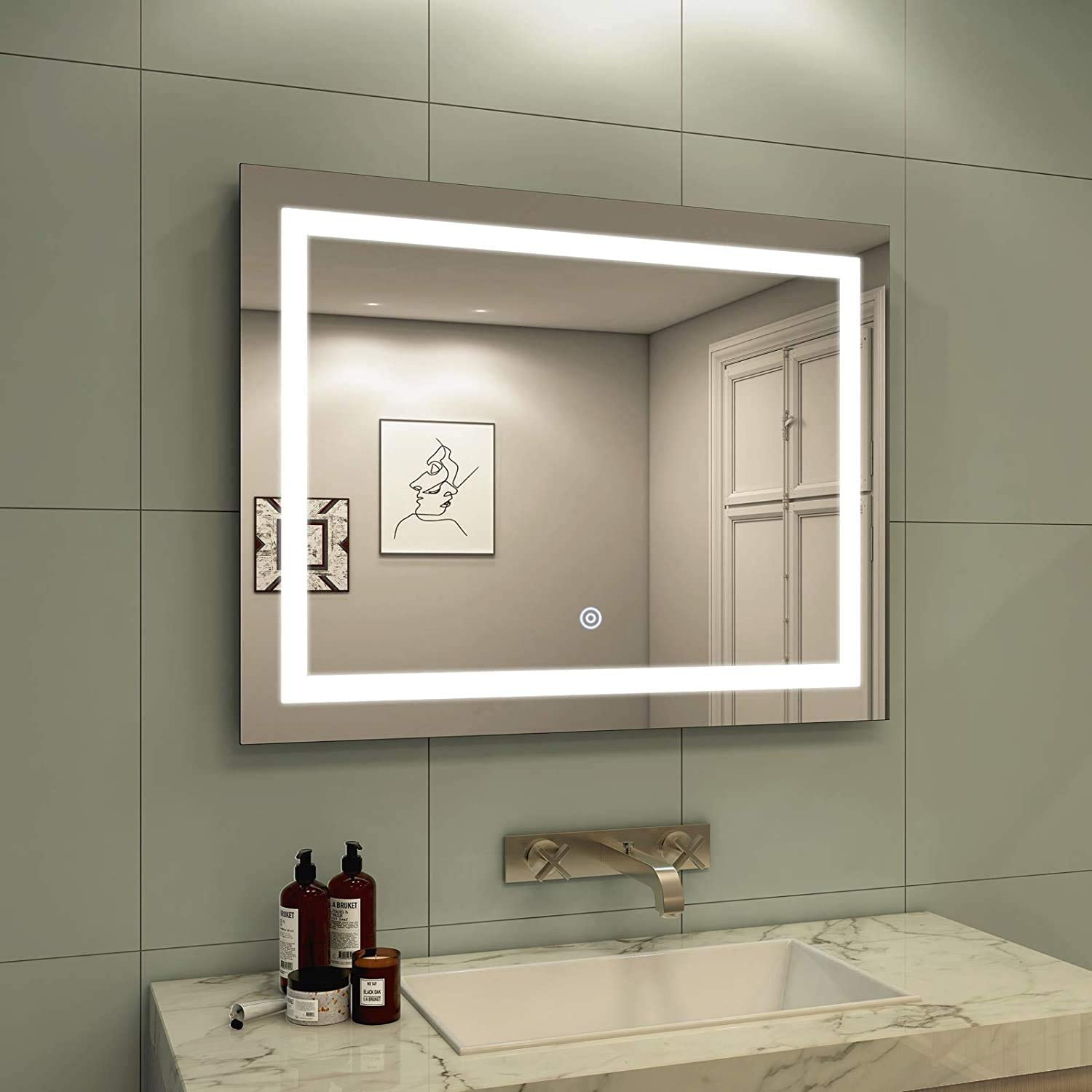 28 x Rare 36 Inch LED Vanity Today's only Mirror Dimmable Bathroom
