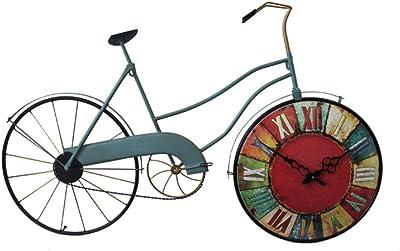 HAOYUXIANG Creativo Hierro Forjado Bicicleta Retro decoración de ...