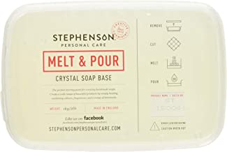 Stephenson Step-Clear Melt and Pour Soap Base 2lb