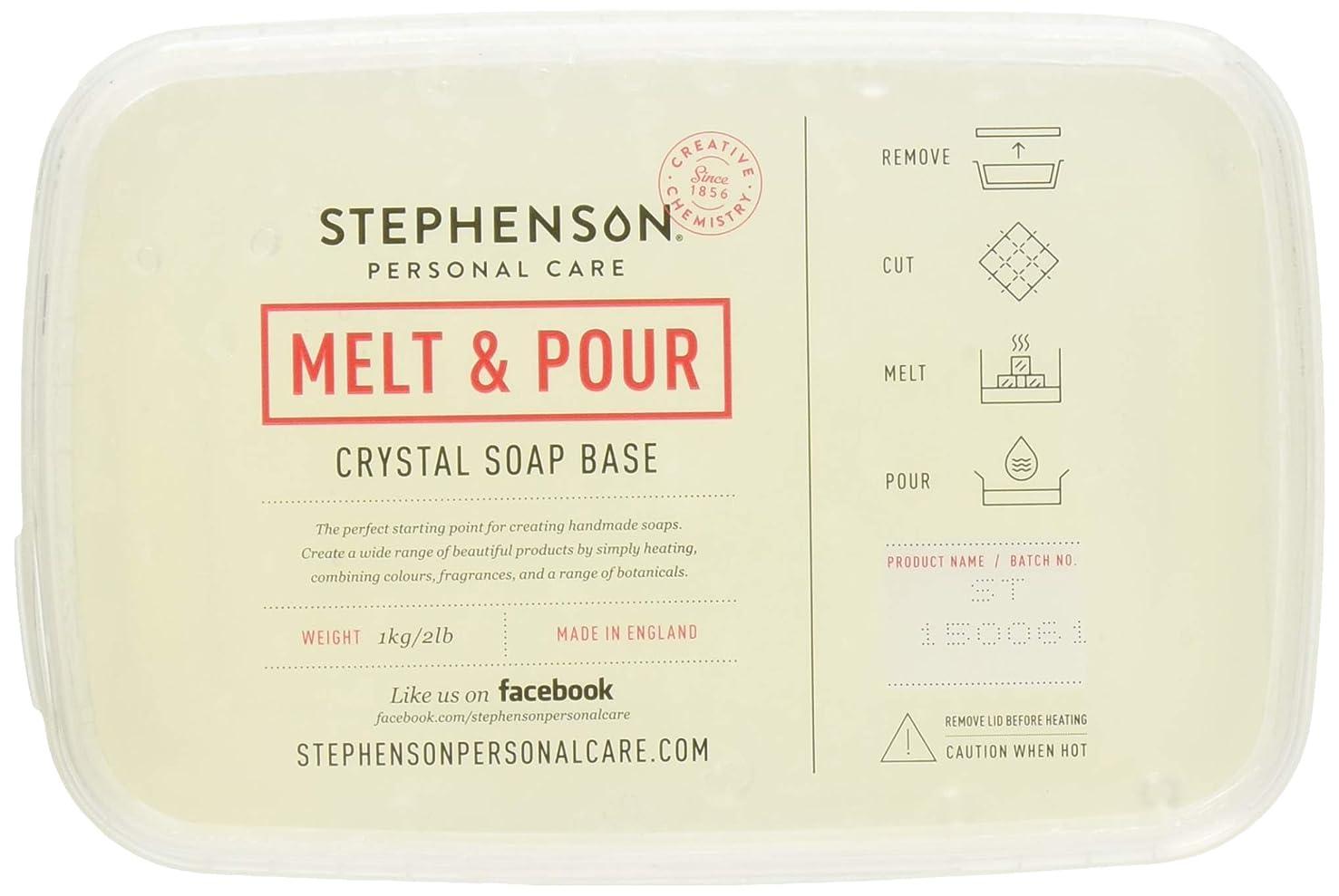 Stephenson Step Clear Melt and Pour Soap Base 2lb
