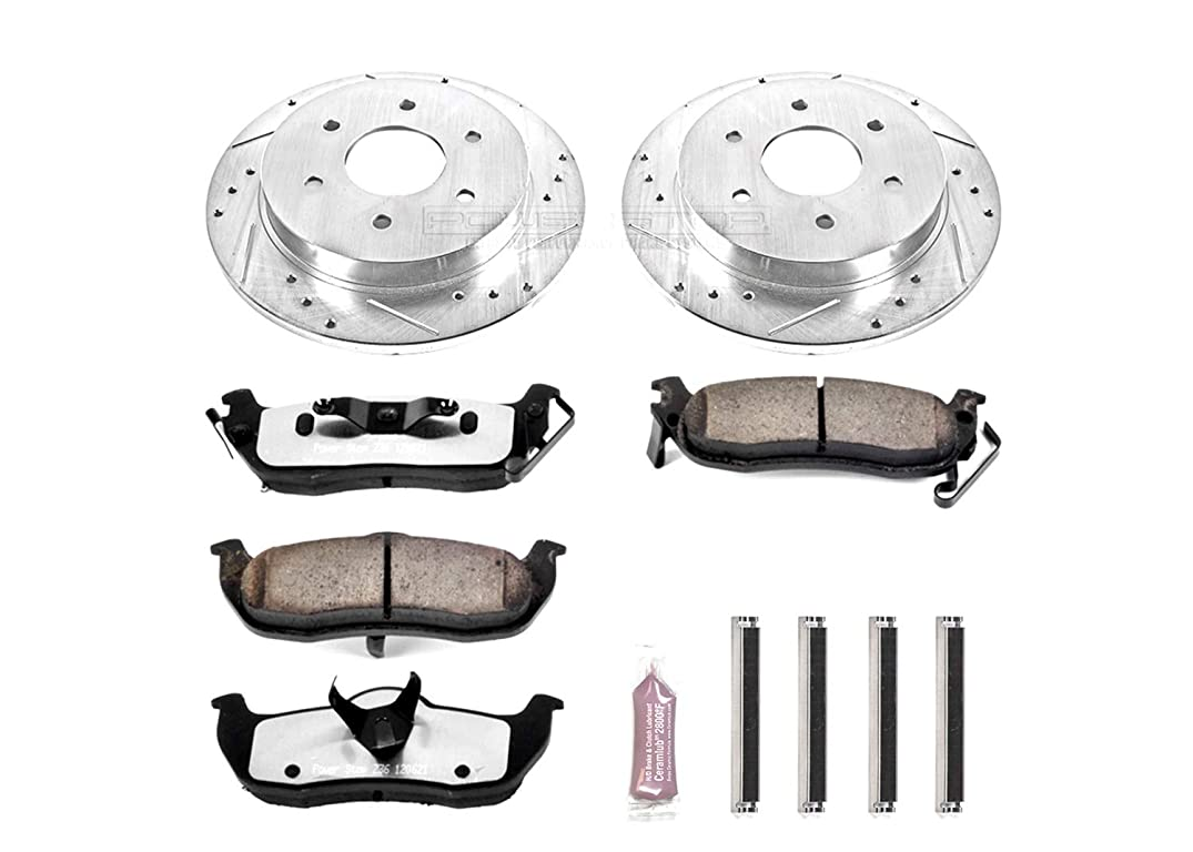 Power Stop K2445-36 Z36 Truck & Tow Rear Brake Kit