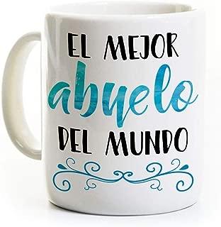 El Mejor Abuelo Coffee Mug - Spanish Best Grandpa in the World