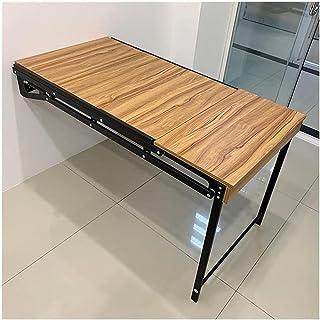 Table murale pliante pour ordinateur - Économie d'espace - Pour cuisine, salle à manger, bar, café - Dimensions : 1220 x 6...