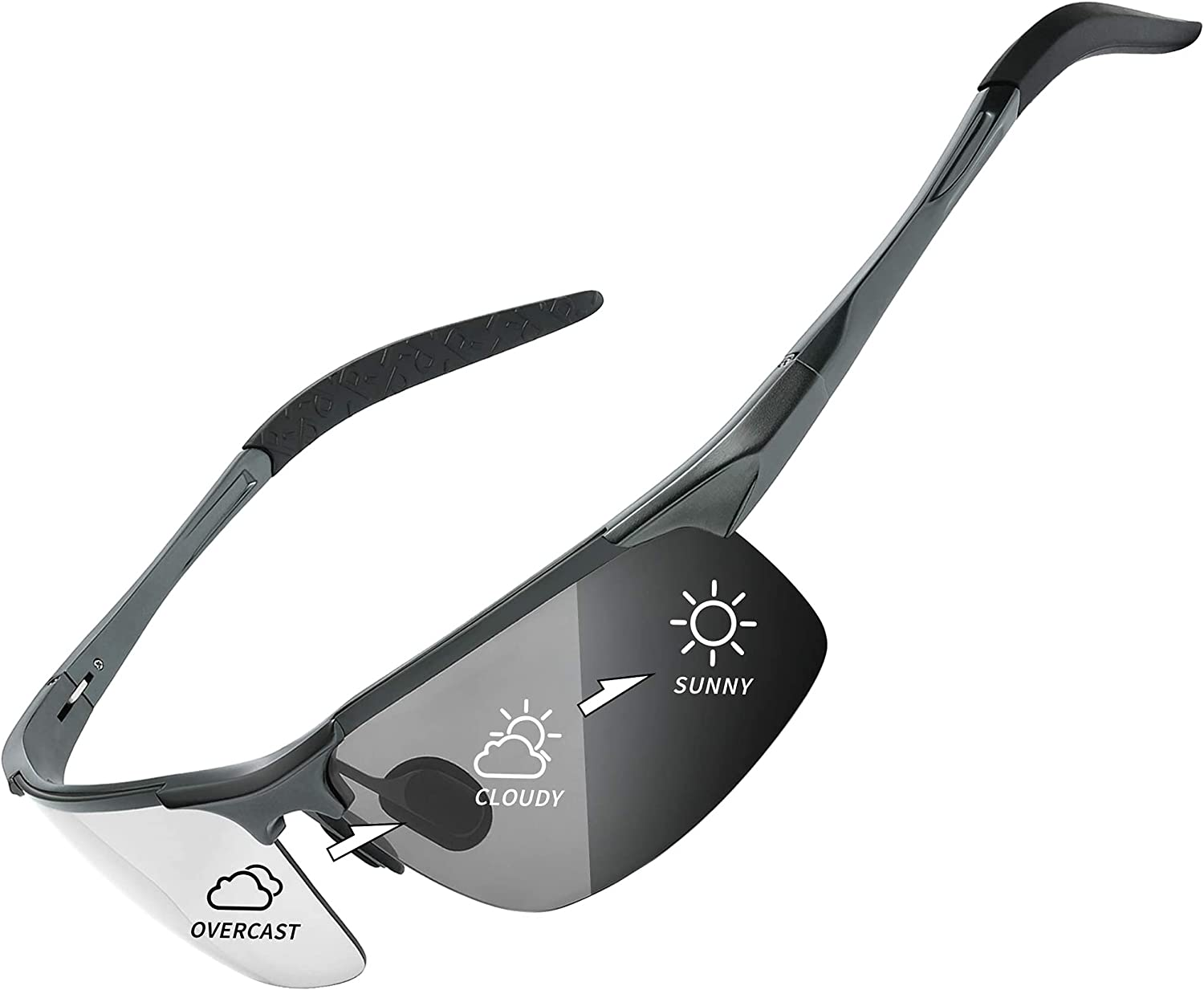 Photochromic Year-end gift Sunglasses Limited Special Price Polarized Sports Protec UV400