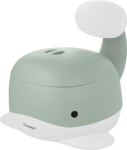Kindsgut Pot pour bébé, toilette enfant pour l'apprentissage de la propreté, pistache