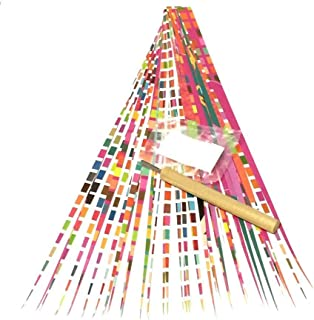 Paper Bead DIY Kit Paper Roller Tool with Slotted Tip, Pack of Paper Strips, Elastic Stringing Cord, and Digital Instructions
