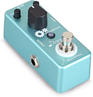 Donner Guitar Stylish Fuzz Traditional Rich, Aluminium-alloy Classic Effects Pedal