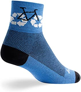 SockGuy Classic 3in Recycle Cycling/Running Socks