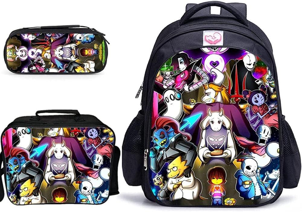 BZL POP Juego de 3 mochilas escolares de 16 pulgadas, para niños y niñas, ortopédicas, para estudiantes, mochila Escolar-002_32 x 17 x 42 cm
