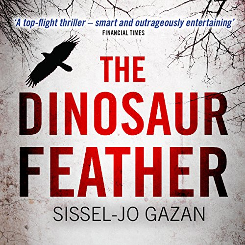 The Dinosaur Feather audiobook cover art