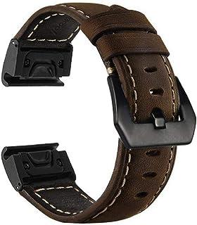 Large Size Watch Band for Garmin Fenix 3/Fenix 3 HR/Fenix 5X/D2 Charlie/Descent Mk1 Replacement Watch Band Quick Release B...