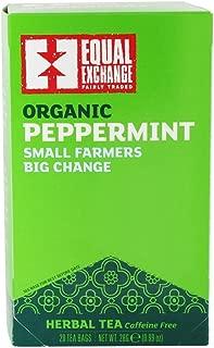 equal exchange peppermint tea