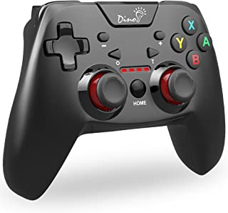 DinoFire Controller for Nintendo Switch, Bluetooth 6-Axis Somatosensory Switch Controllers Wireless Game Remote Control Jo...