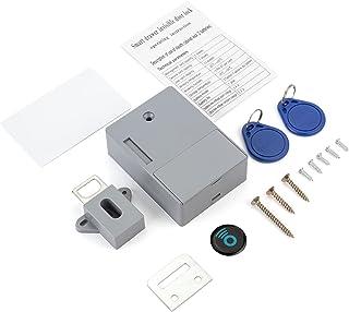 Smart Electronic Cabinet Lock,Invisible DIY Hidden RFID Wooden Cabinet Door Lock,IC Card/Tag Sensor Drawer Lock Induction ...
