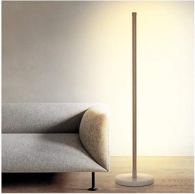 YliJkeT Lámparas de pie Lámpara de pie de 128 cm/Lectura Luz de ...