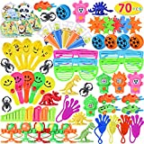 Max Fun Party Toys Assortment for Kids Party Treasure Chest Prizes Box Birthday Party School Classroom Rewards Carnival Prizes Pinata Fillers(Pack of 70)