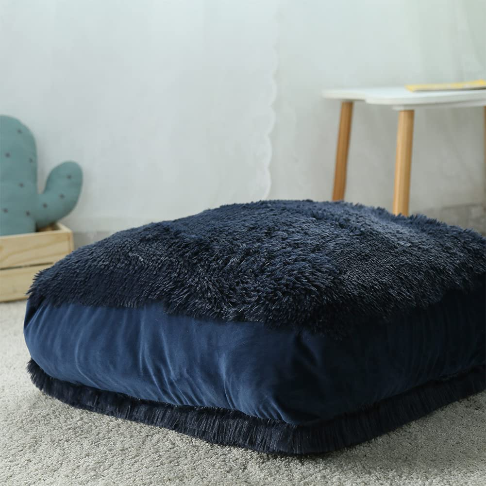 Soft Square Floor Ranking TOP12 Pillow for Sitting Max 84% OFF Cushion Large