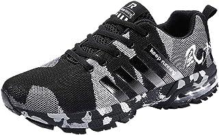 Chaussure Homme Pas Cher,Alaso Chaussures de Sécurité Homme Embout Acier Protection Confortable Léger Respirante Baskets S...