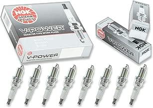 8 pcs NGK V-Power Spark Plugs for 2006-2007 Jeep Commander 4.7L - Engine Kit Set Tune Up