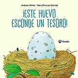 ¡Este huevo esconde un tesoro! (Castellano - A Partir De 0 Años - Manipulativos (Libros Para Tocar Y Jugar), Pop-Ups - Otros Libros)