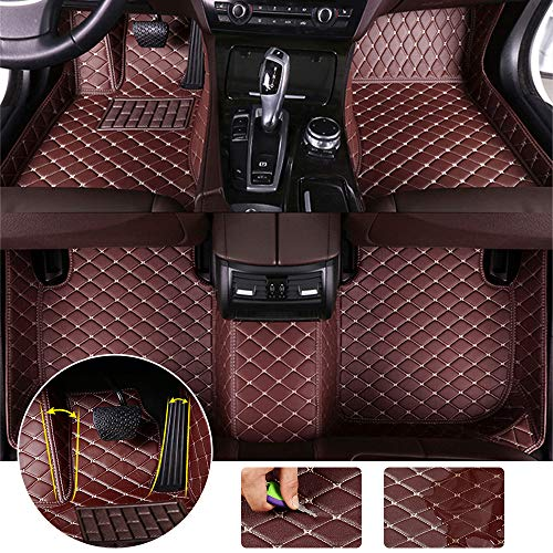 for 2009-2015 Buick Lacrosse Floor Mats Full Protection Car Accessories Coffee 3 Piece Set