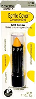 Physician's Formula, Inc, Gentle Cover Concealer Stick, Soft Yellow, 0.15 oz (4.2 g)