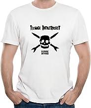 FONY - Camiseta de manga corta para hombre con logo de la banda Rock