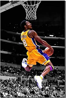 Kobe Bryant Wallpaper Basktball Home Decor Sports Poster Painting Canvas Prints Picture Frameless Artwork New Home Gift