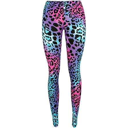 Lovetoenvy Ladies Animal Print Leggings (Multi-Colored)