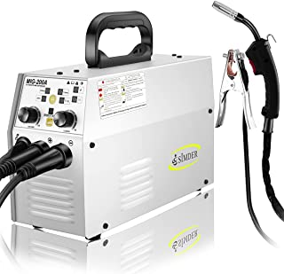 MIG Welder Flux Core Welding Machine 110V 220V 120A Wire Feed Welder MIG ARC Lift TIG No Gas 3 In 1 Multifunction Digital ...