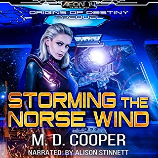 Storming the Norse Wind audiobook cover art