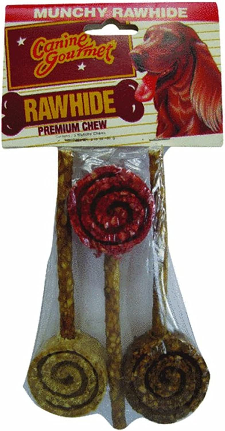 Munchy Rawhide Chew Toy by Ruffin It