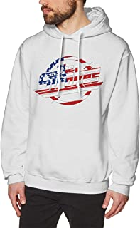 DGGE Hey! Listen! Men's Hoodies Sweatshirts Clothing and Sports