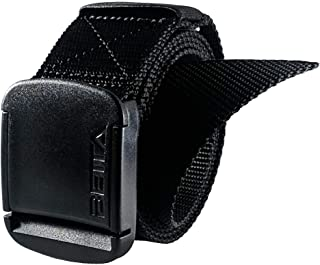 1.5 Inch Wide Men's Nylon Web Belt with High-Strength Adjustable Buckle