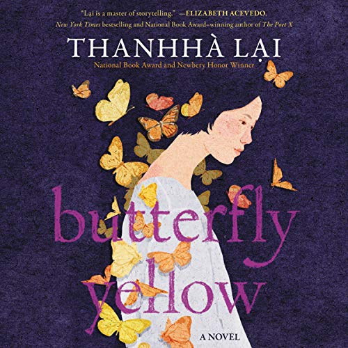 Butterfly Yellow audiobook cover art