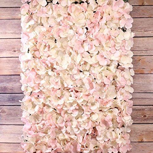 Pink Cloud Boutique Décoration murale en fleurs d'hortensia - rose/crème