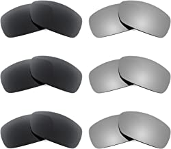Revant Replacement Lenses for Ray Ban RB4057 6 Pair Combo Pack K028
