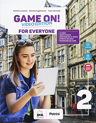Game on! Student's book for everyone. BES. Per la Scuola media. Con e-book. Con espansione online [Lingua inglese]: 2