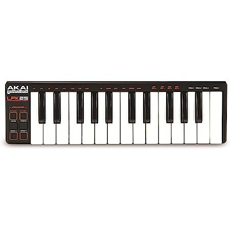 Akai Professional USB MIDIキーボード 25鍵 (Mac・PC対応) LPK25