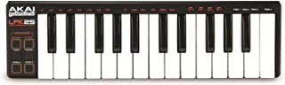 Akai Professional LPK25 | 25 Key Portable USB MIDI Keyboard Controller for Laptops (Mac & PC)