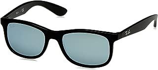 RJ9062S Rectangular Kids Sunglasses, Matte Black On...