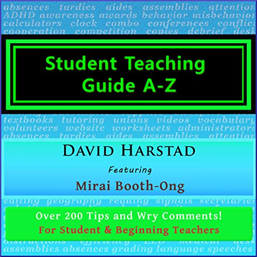 Student Teaching Guide A-Z: For Student and Beginning Teachers audiobook cover art
