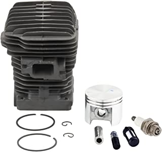 Harbot MS250 42.5mm Cylinder Head Piston Kit with Spark Plug Oil Fuel Filter for STIHL 023 025 MS230 Chainsaw