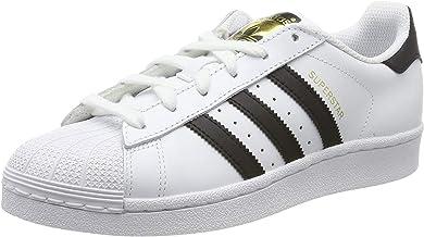 Amazon.es: zapatillas adidas blancas con rayas negras