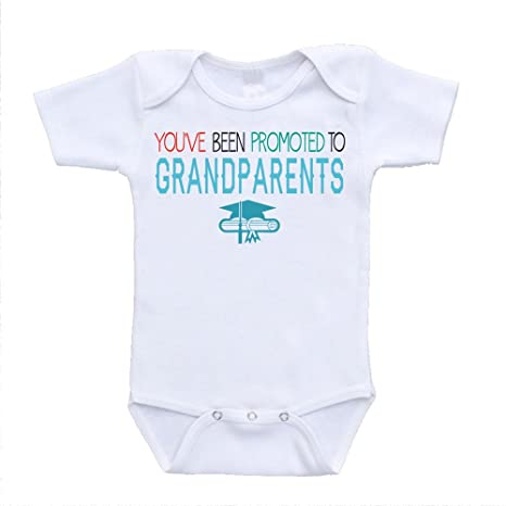 Grandma Grandpa Baby Announcement Onesie\u00ae Funny Pregnancy Announcement for Grandparents Pregnancy Announcement Onesie\u00ae for Grandparents