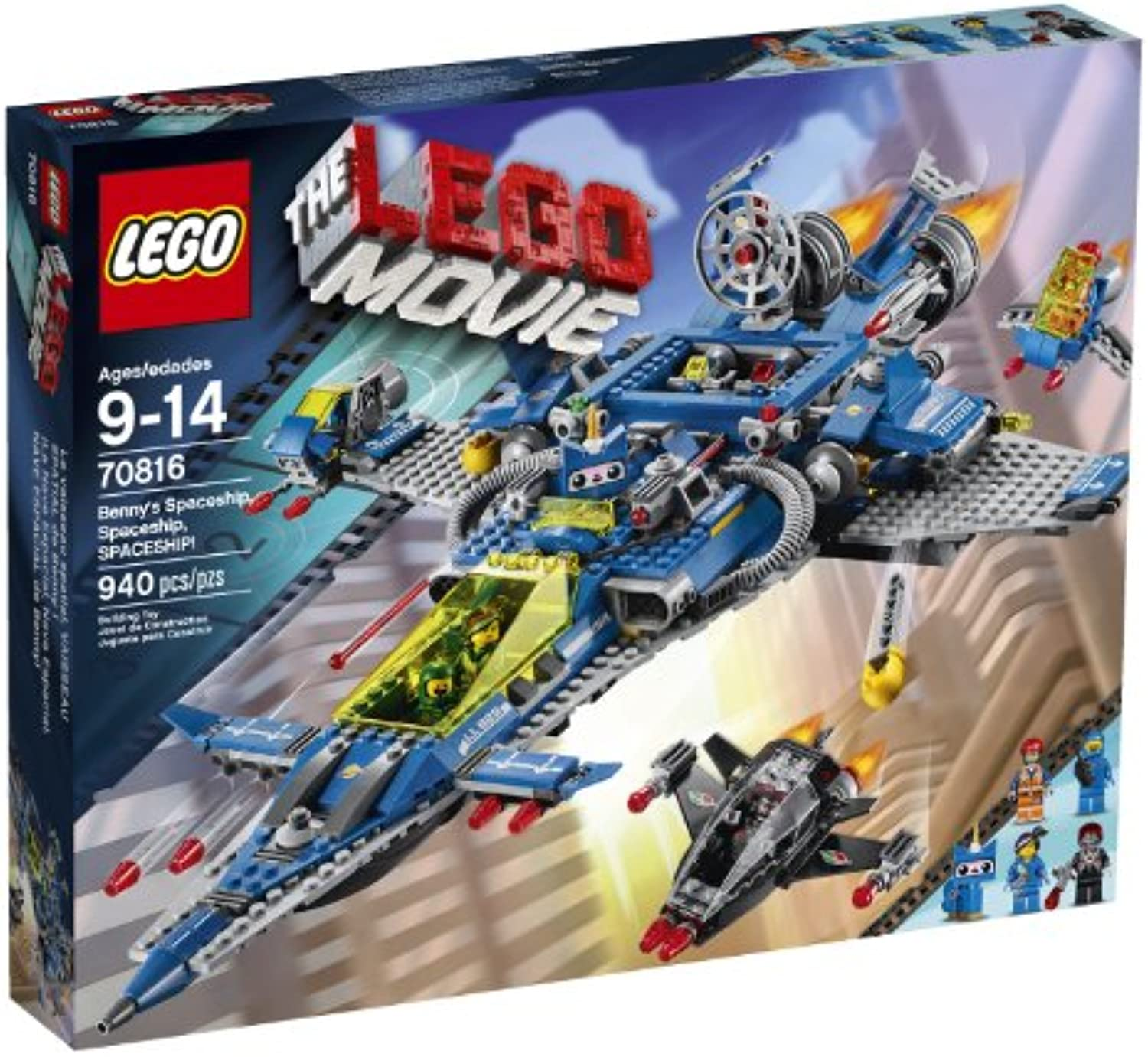 LEGO Movie 70816 Benny's Spaceship, Spaceship, Spaceship  Building Set