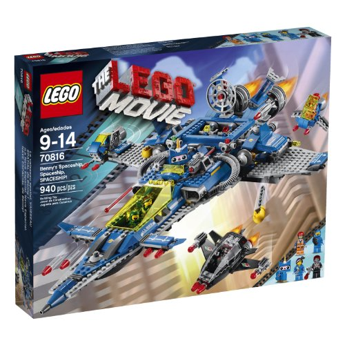 LEGO Movie 70816 Benny's Spaceship, Spaceship, Spaceship! Building Set (Discontinued by manufacturer) by LEGO