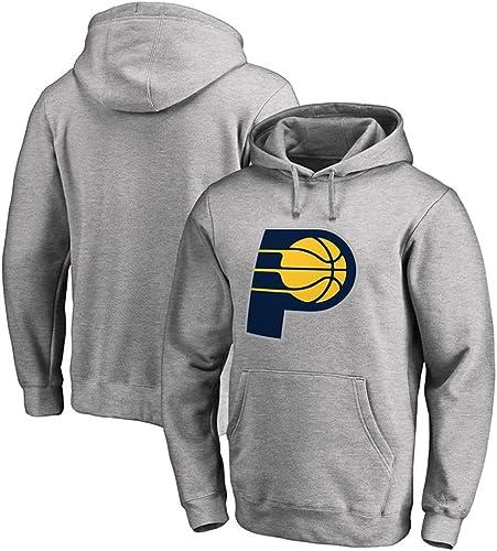 Sweat à Capuche NBA Indiana Pacers Basketball Sport Hommes Occasionnels lache Confortable Manteau S-3XL